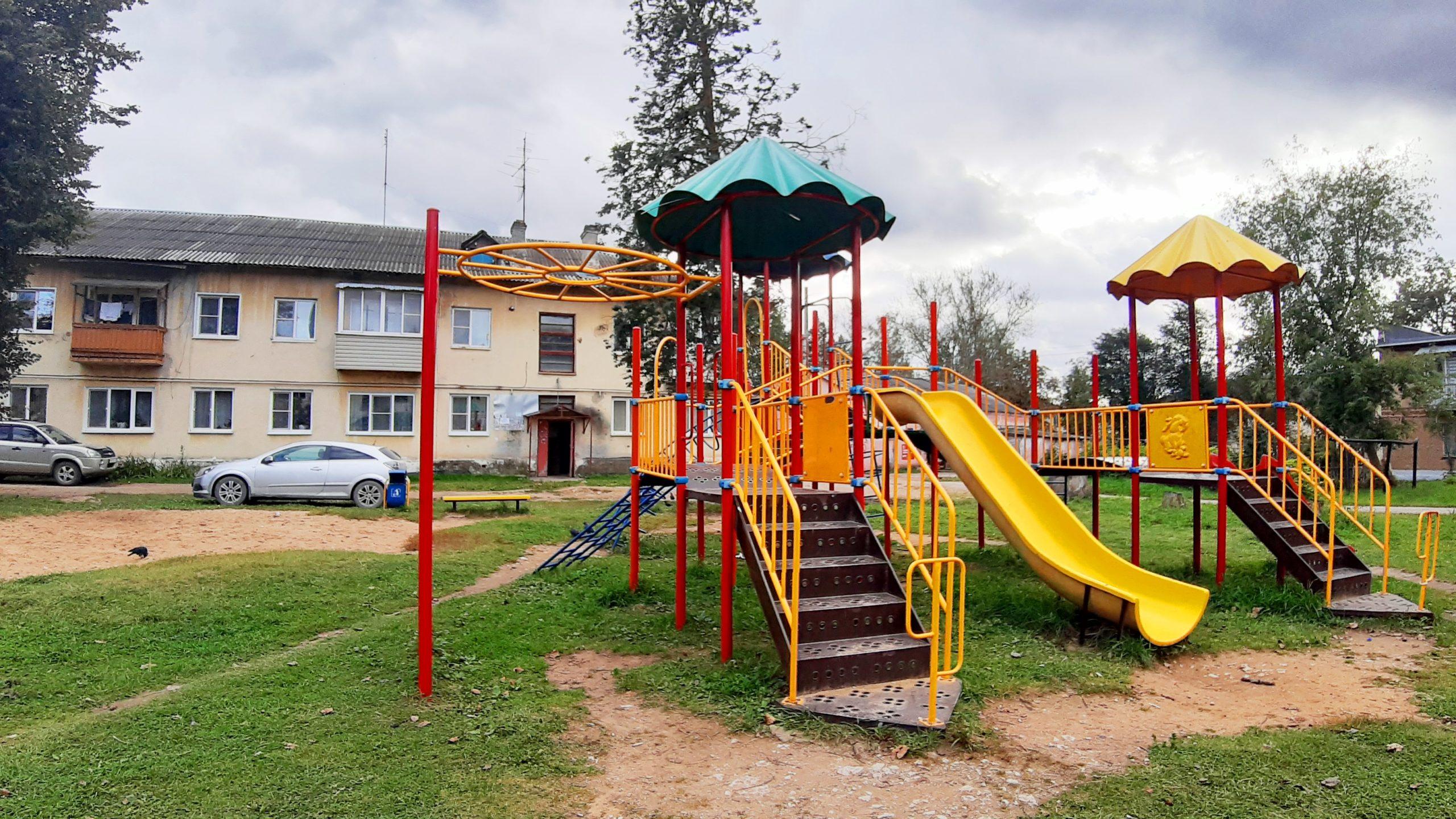 квартира Пятовский Калуга детская площадка